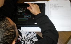 Seth bringing his writing to life.