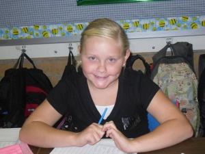 Our new math teacher- Mary!
