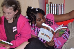 Reading creates special relationships between students and teachers!