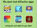 Cost Effective Apps:  Getting the most BANG for your BUCK