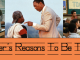 A Teacher's Reasons To Be Thankful