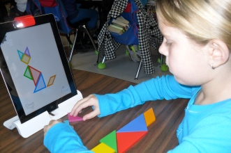 Tangible Play Tangrams