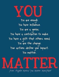 You Matter Manifesto
