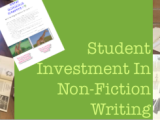 Make Students Invest In Non-Fiction Writing Through Technology Using Strip Designer